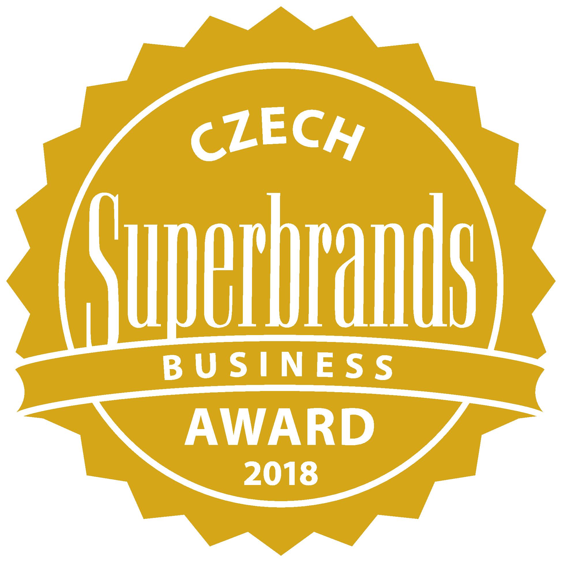 Dostali jsme ocenenie Superbrands