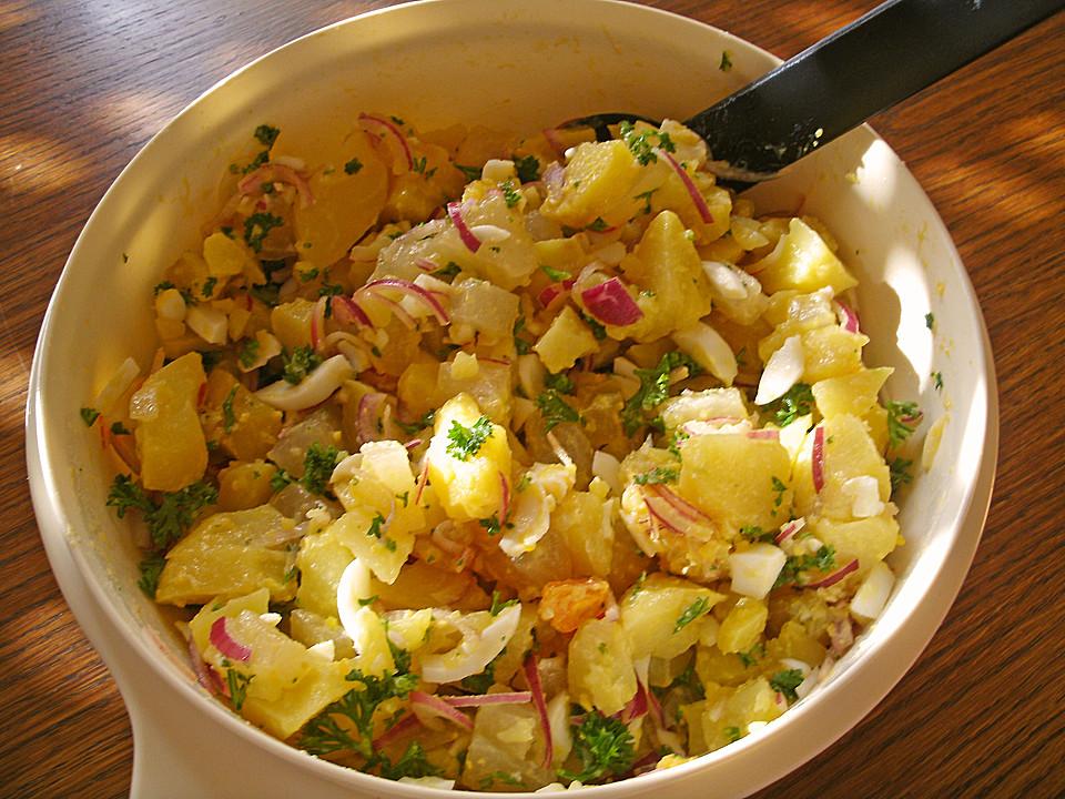 Zemiakový šalát - ide to aj bez majonézy